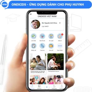 OneKids ứng dụng được phụ huynh học sinh yêu thích nhất.