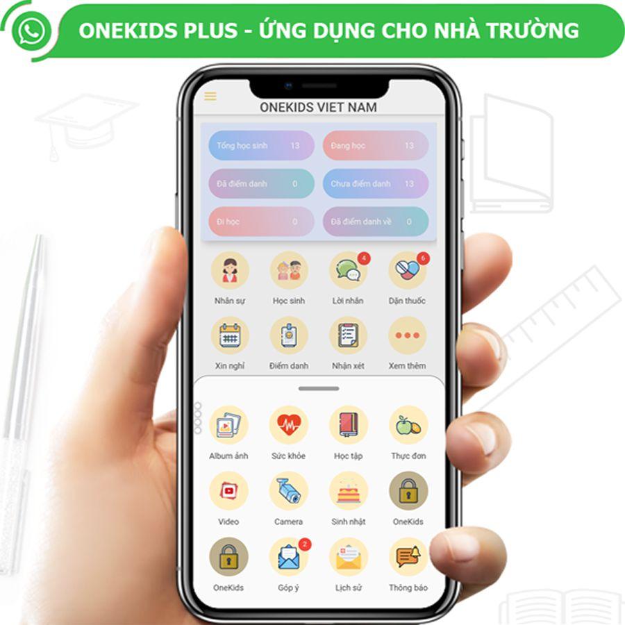 Hệ thống phần mềm quản lý trường mầm non số 1 Việt Nam OneKids Plus